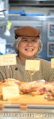 AKASHI SWEETS Pie saQ。